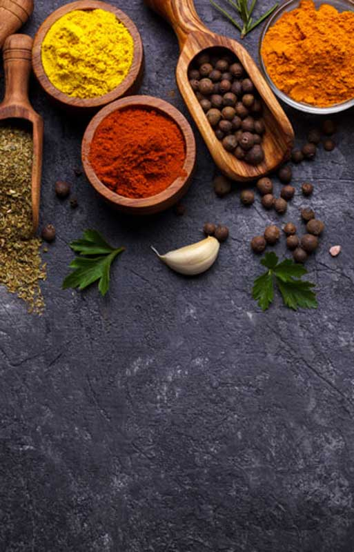 Indian Restaurant Spices In Bureta