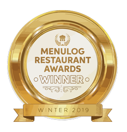 Menu Log Award for good indian restaurant in Tauranga